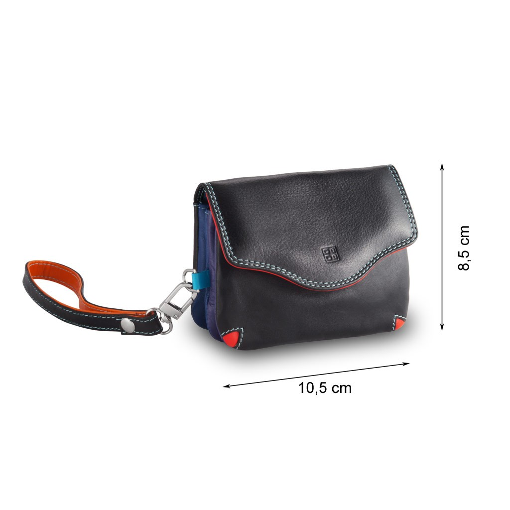 DuDu Small multi color handbag - Black