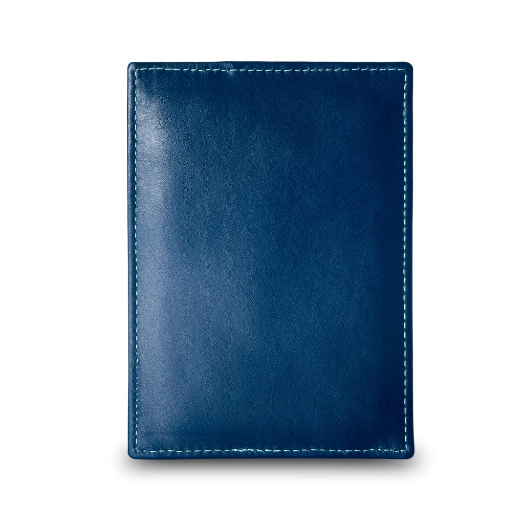 DuDu Compact multi color credit card holder wallet - Blue