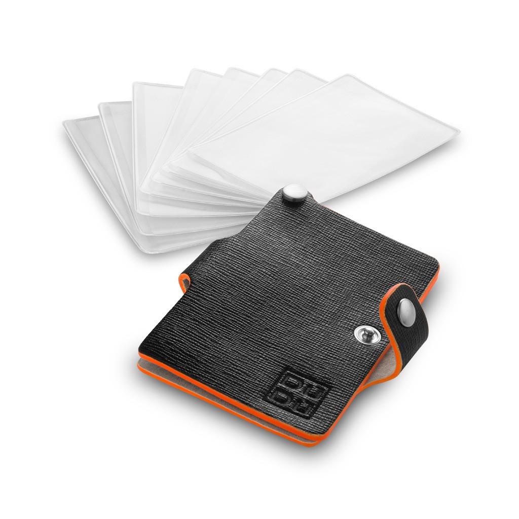 DuDu Premium small card holder - Black