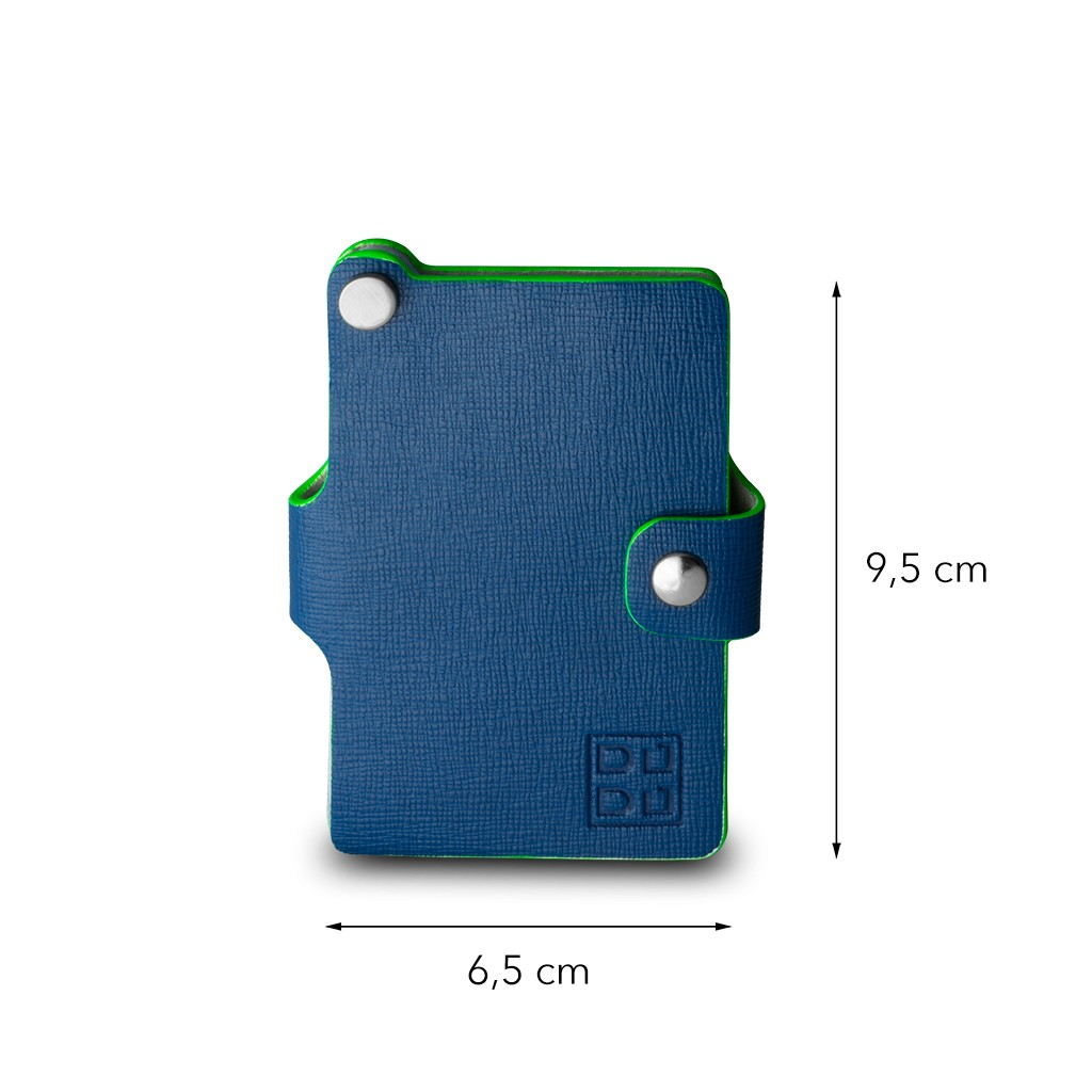 DuDu Premium small card holder - Blue