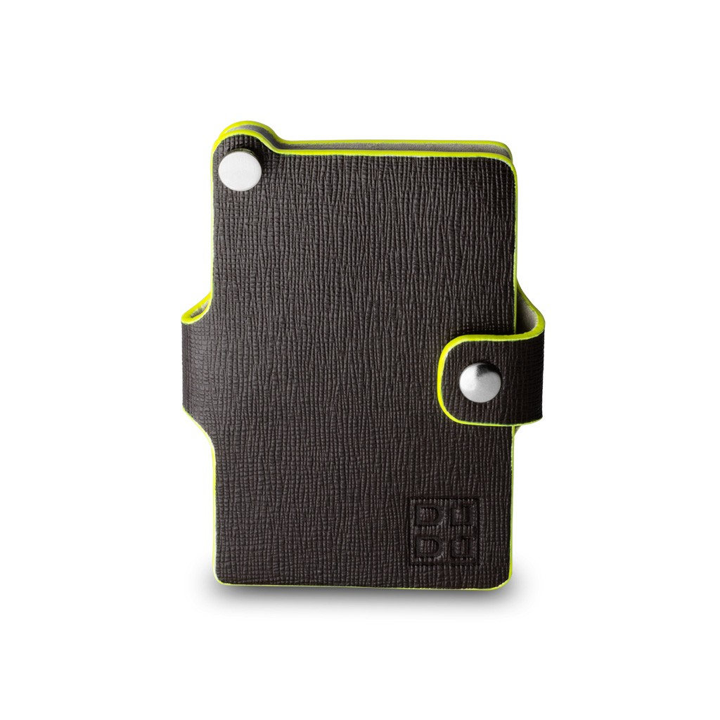 DuDu Premium small card holder - Dark Brown