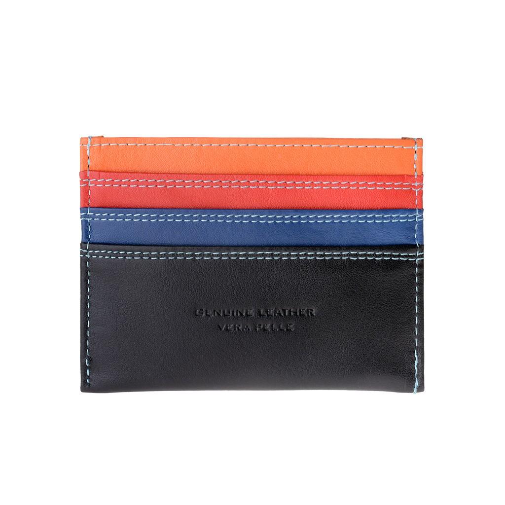 DuDu ארנק מינימליסטי לכרטיסי אשראי - שחור