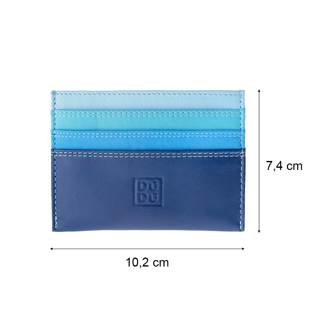 DuDu ארנק מינימליסטי לכרטיסי אשראי - כחול