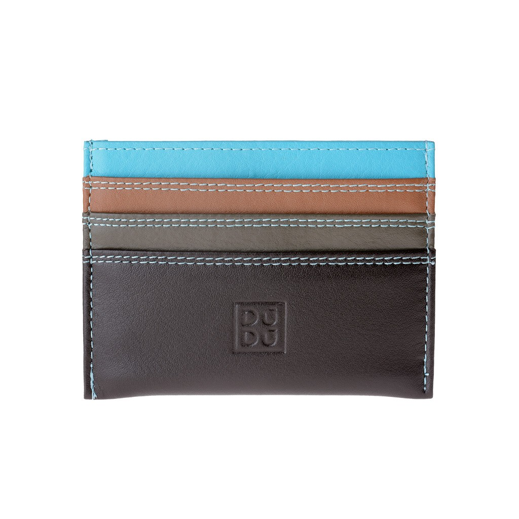DuDu Credit card holder - Brown