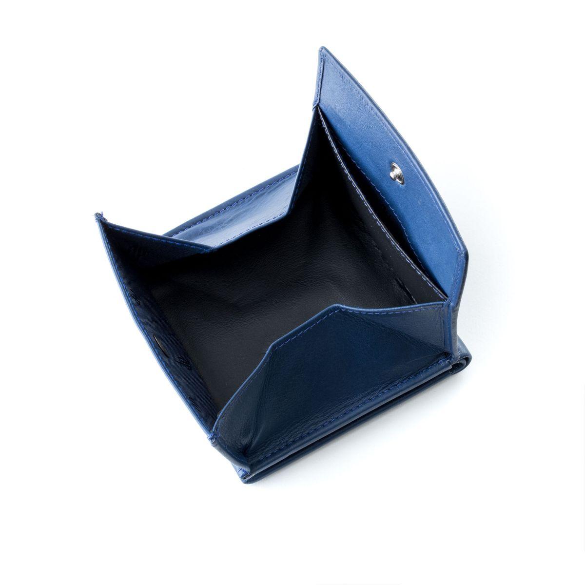 dv Small mans elegant billfold wallet  - Blue