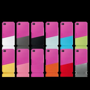 ego כיסוי ל iPhone 4 דגם Slide Case A - פוקסיה