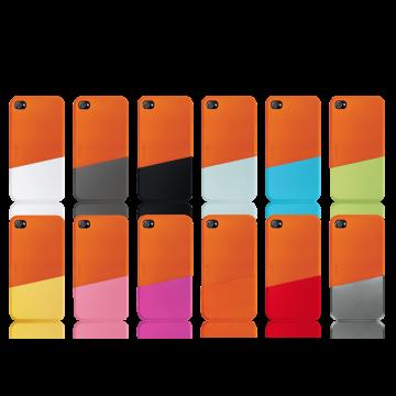 ego כיסוי ל iPhone 4 דגם Slide Case A - כתום