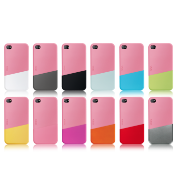 ego כיסוי ל iPhone 4 דגם Slide Case A - ורוד