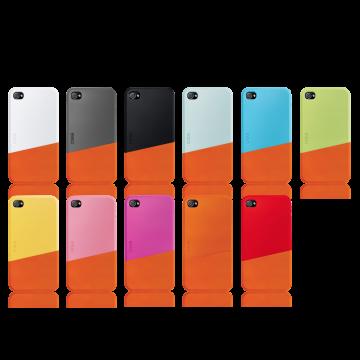 ego כיסוי ל iPhone 4 דגם Slide Case B - כתום