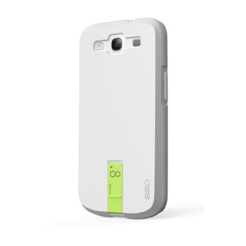 ego כיסוי ל Galaxy S3 עם USB - לבן 8GB