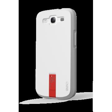 ego כיסוי ל Galaxy S3 עם USB - לבן 16GB