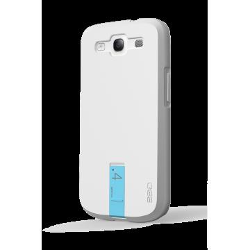 ego כיסוי ל Galaxy S3 עם USB - לבן 4GB