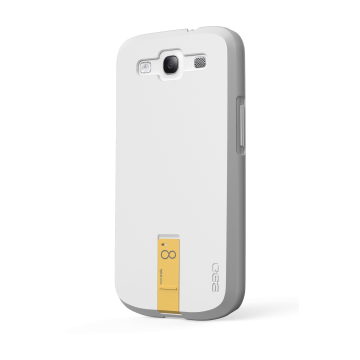 ego USB Case for Galaxy S3 - White 8GB