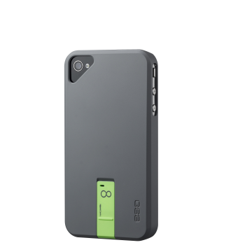 ego USB Case for iPhone 4/4S - Grey 8GB