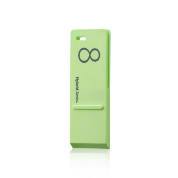 ego USB Flash Drive for iPhone 4/4S Case - Green 8GB