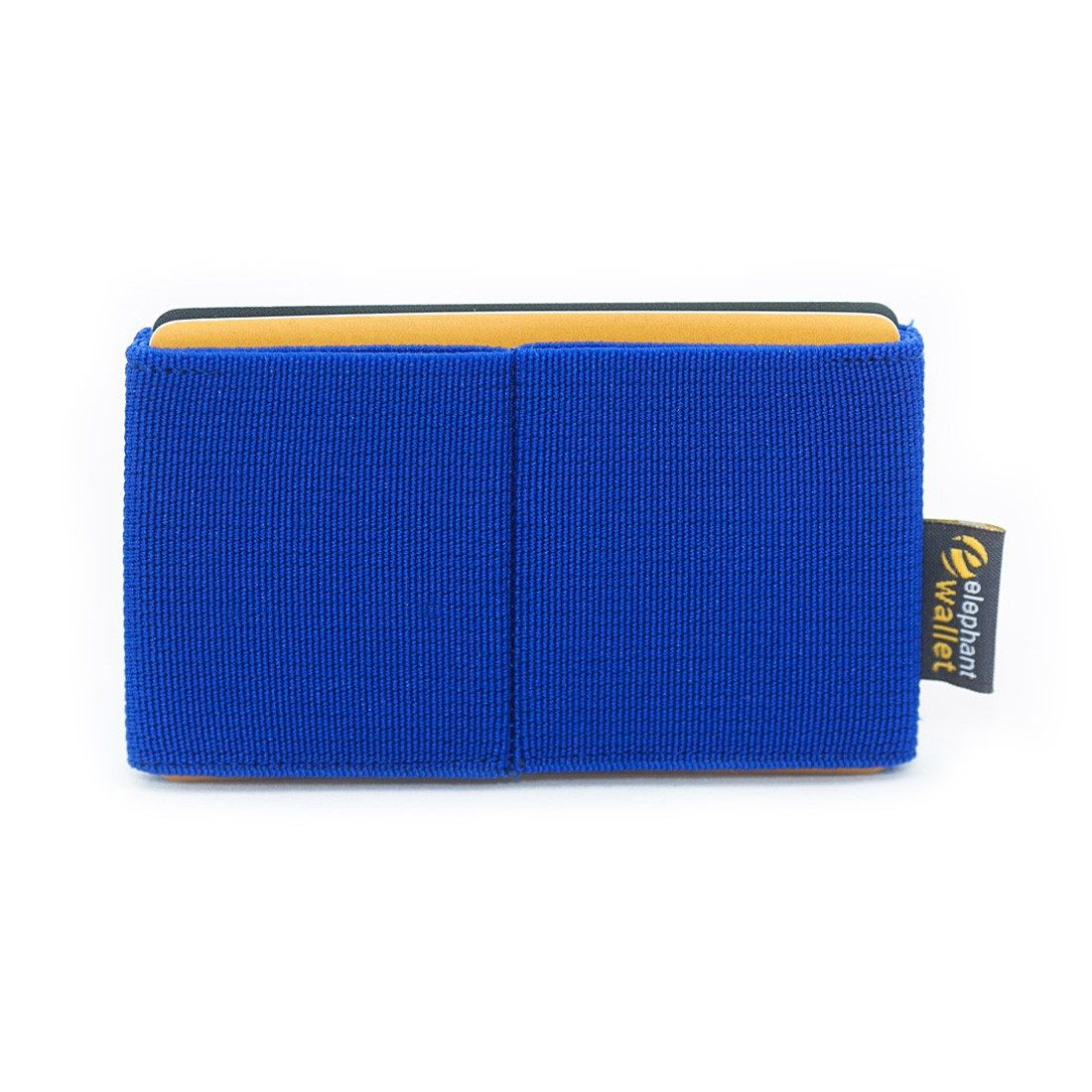 elephant Minimalist Rubber Wallet - Blue