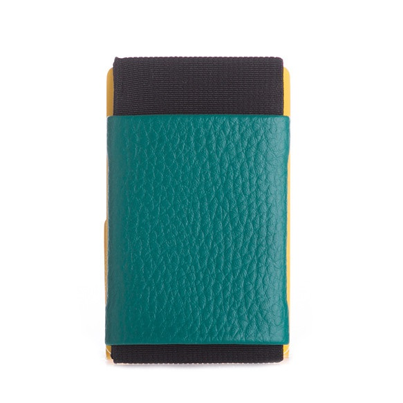 Minimalist Rubber Wallet - Teal