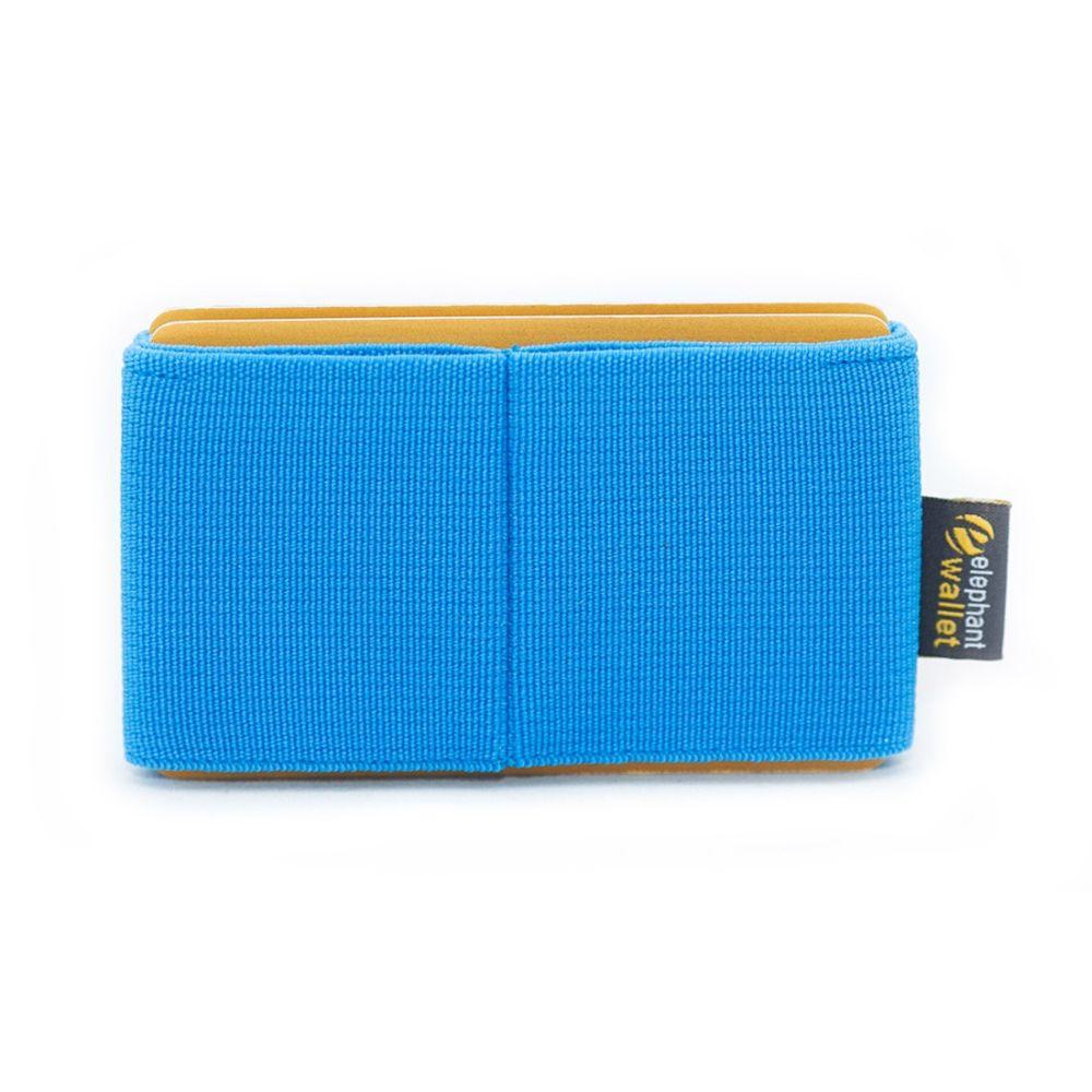 Minimalist Rubber Wallet - Azure
