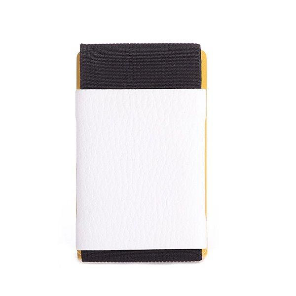 elephant Minimalist Rubber Wallet - White