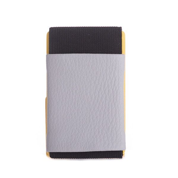 elephant Minimalist Rubber Wallet - Light Gray