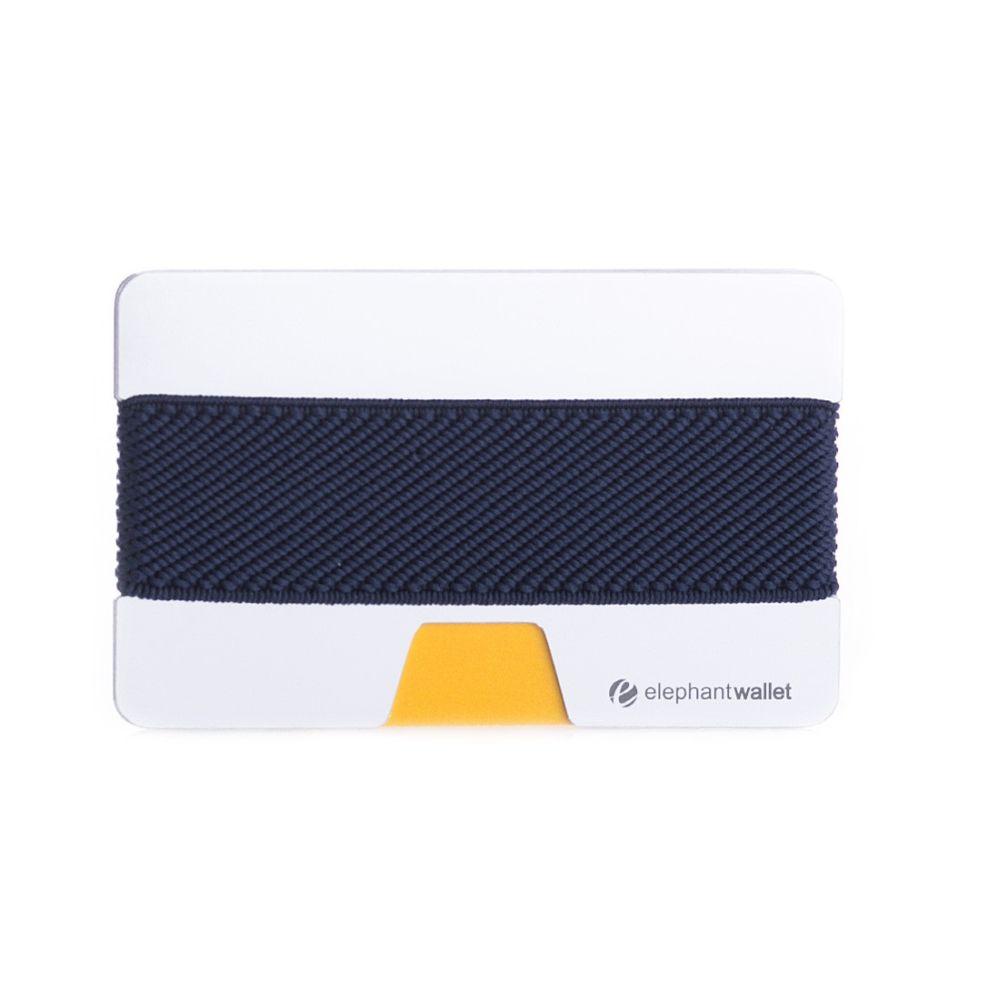 Minimalist Aluminum Wallet - Aluminum/Jeans