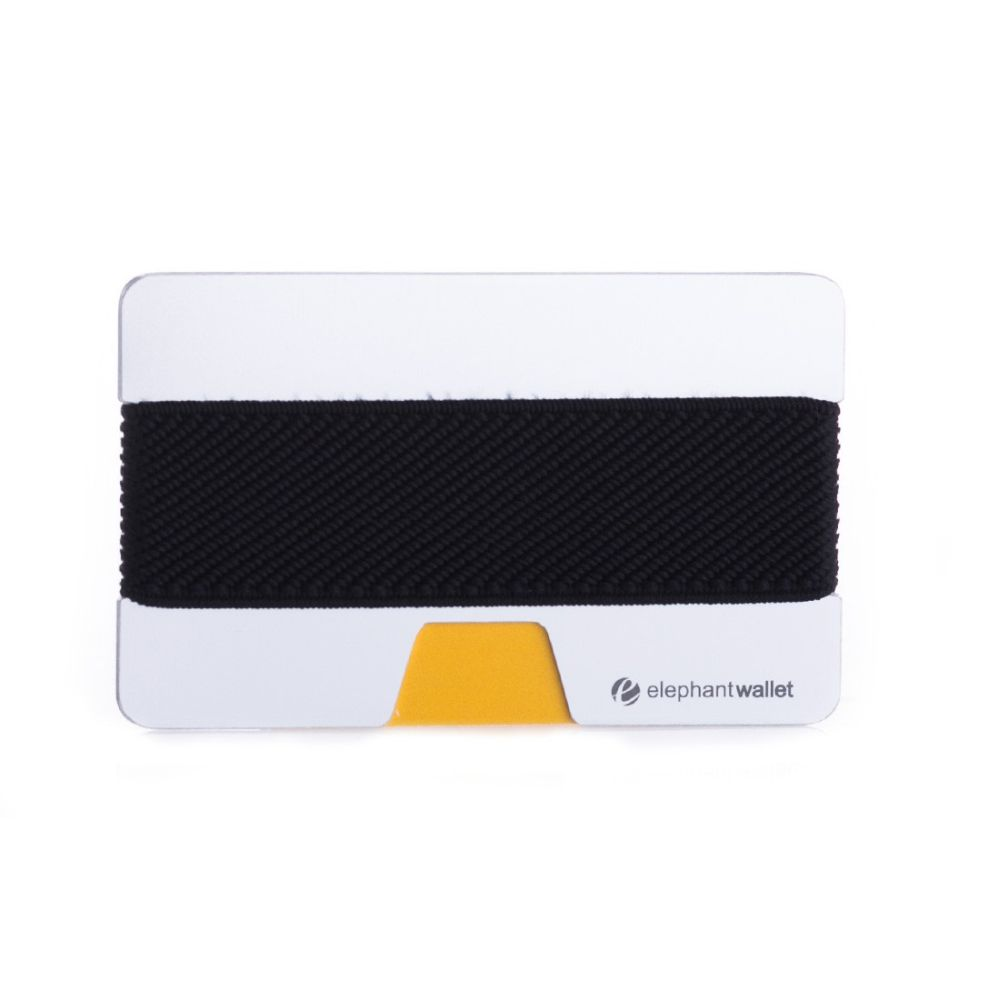 Minimalist Aluminum Wallet - Aluminum/Black