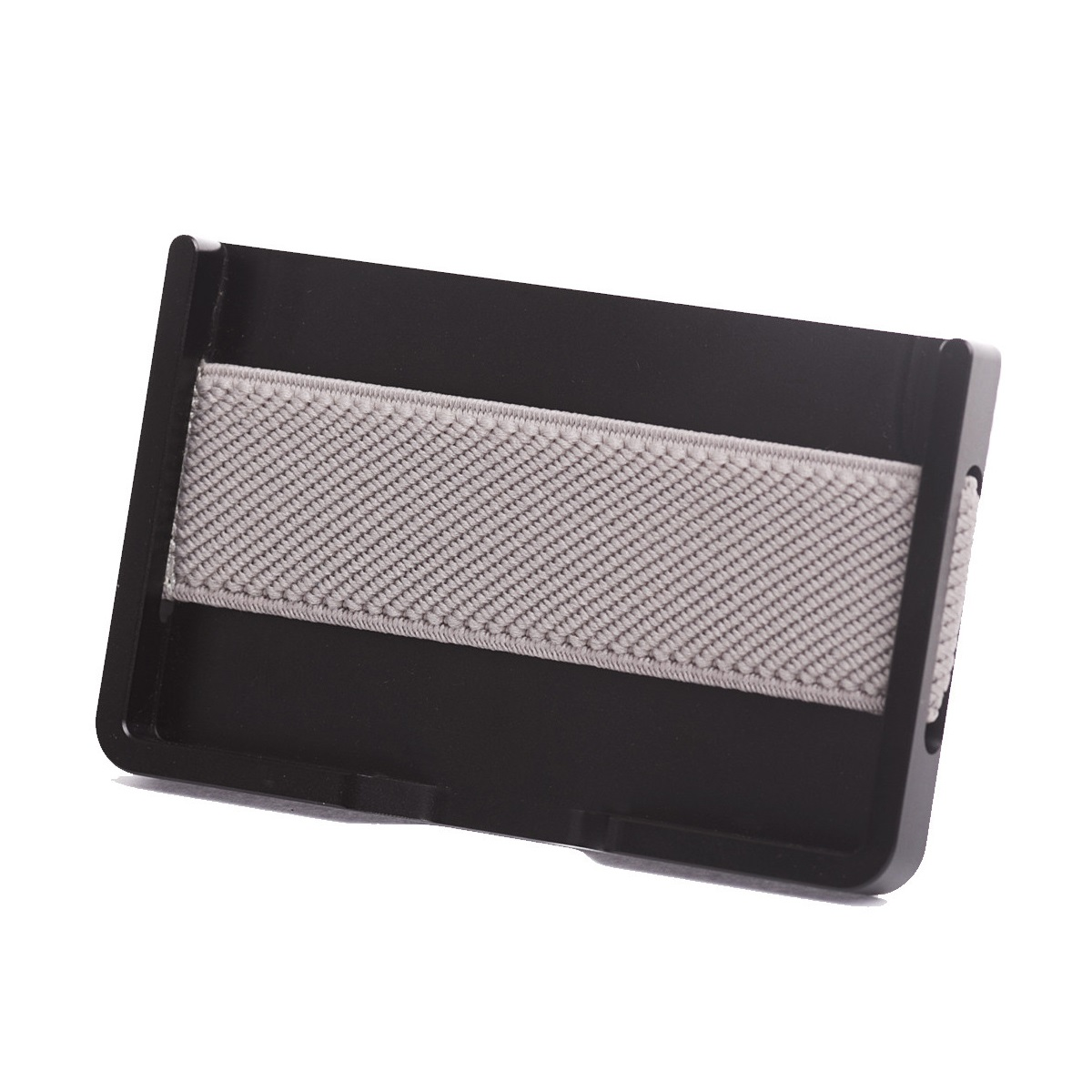 elephant Minimalist Aluminum Wallet - Black/Grey