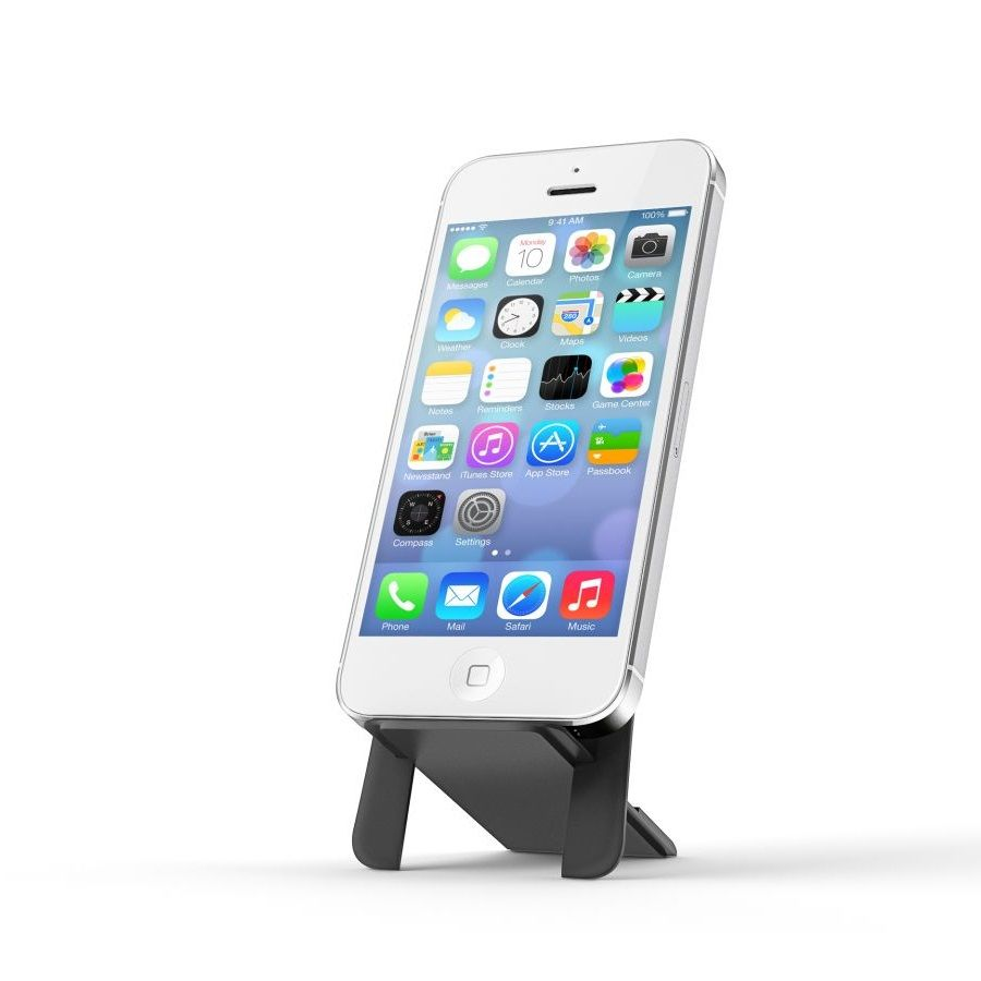 ION phone stand for wallets - Black