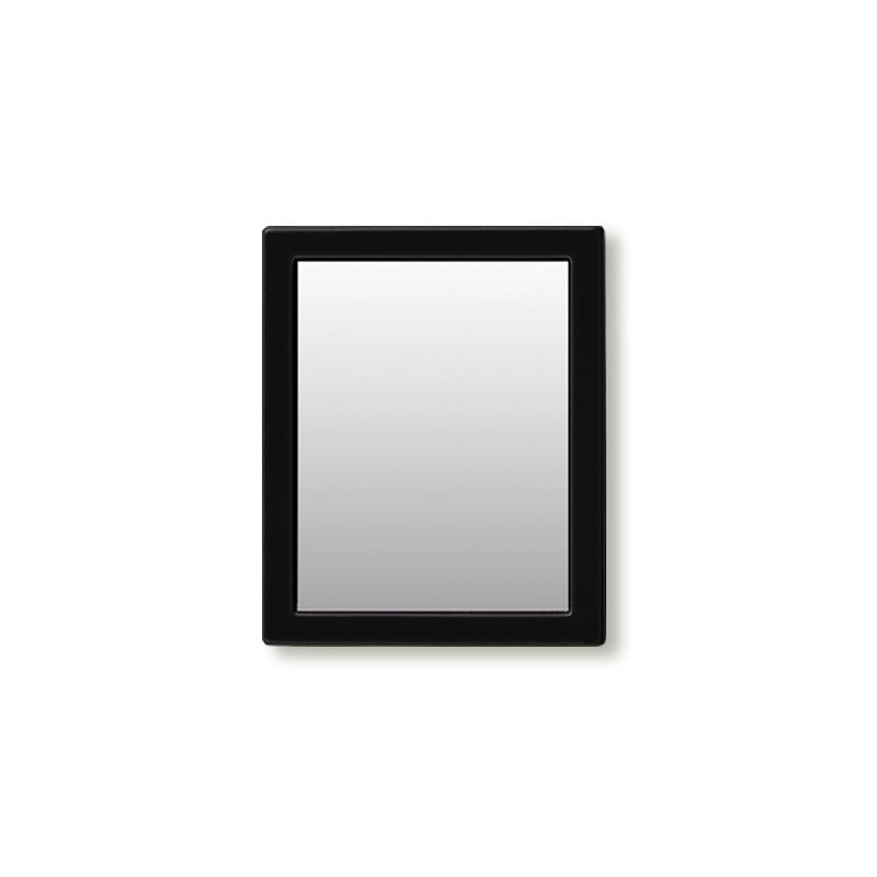 iDecoz Unbreakable Rectangle Phone Mirror - Black