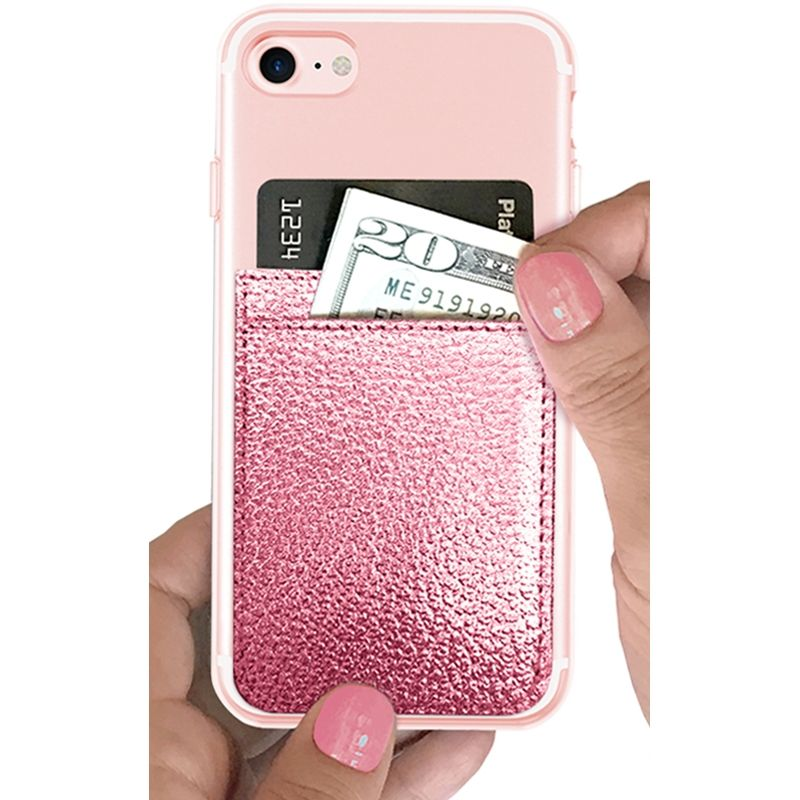 iDecoz Phone Pocket - Rose Gold