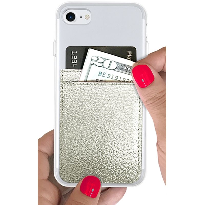 Phone Pocket - Silver