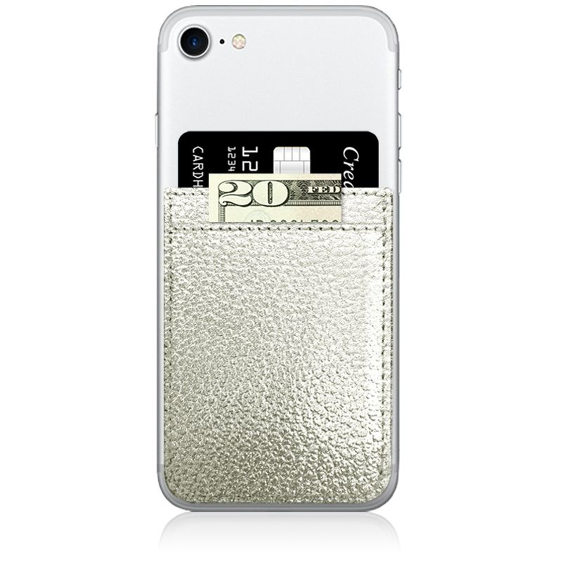 iDecoz Phone Pocket - Silver
