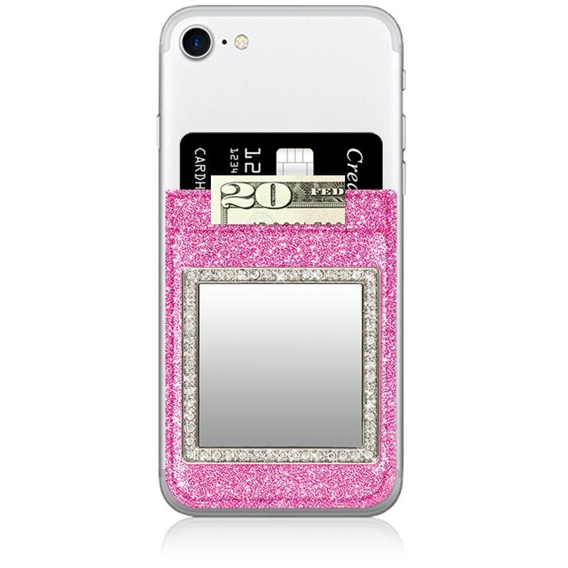 iDecoz Phone Pocket - Glitter Pink