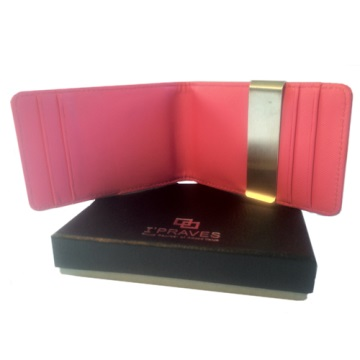 iPraves Money Clip Wallet - Pink