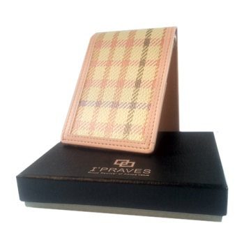 Money Clip Wallet - Pink