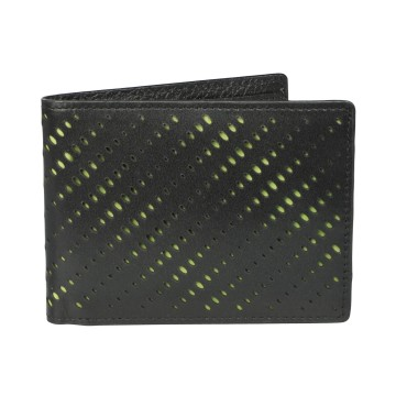 J.FOLD Reverb  Leather Wallet - Black