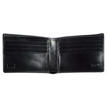 J.FOLD Altrus Leather Wallet - Black