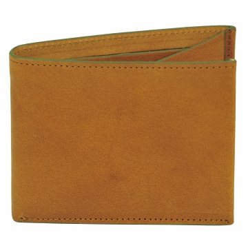 J.FOLD Clearcut  Leather Wallet - Brown