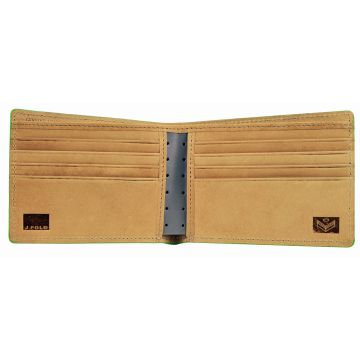J.FOLD Altrus Leather Wallet - Gray