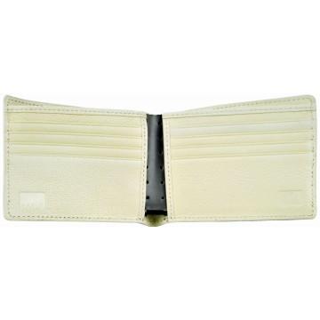 J.FOLD Jetstream Leather Wallet - Grey