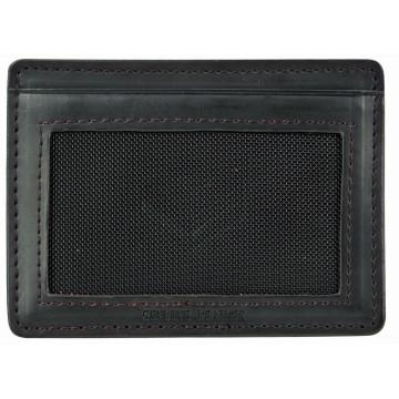 J.FOLD ארנק עור מינימלסטי דגם Flat Carrier - שחור
