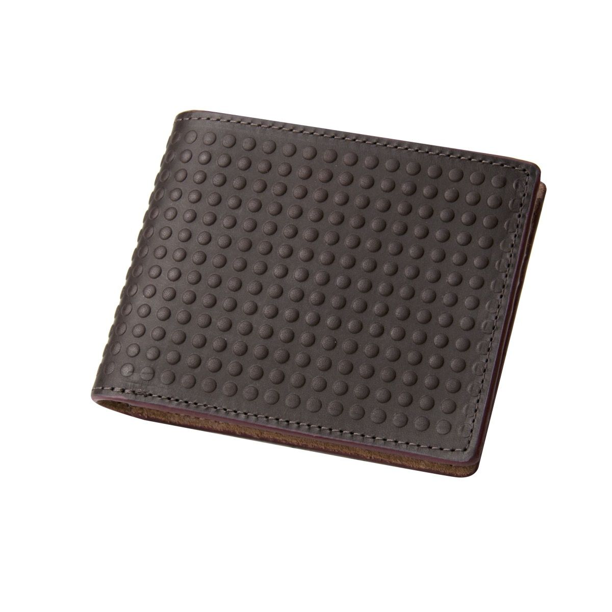 J.FOLD Altrus Leather Wallet - Brwon