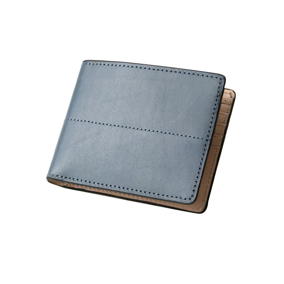 J.FOLD Thunderbird Leather Wallet - Slate
