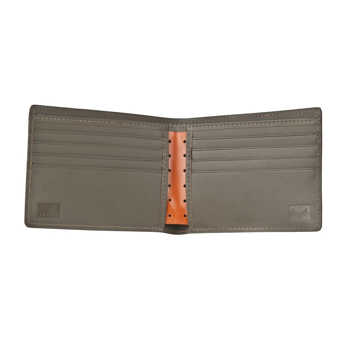 J.FOLD Loungemaster Leather Wallet  - Orange