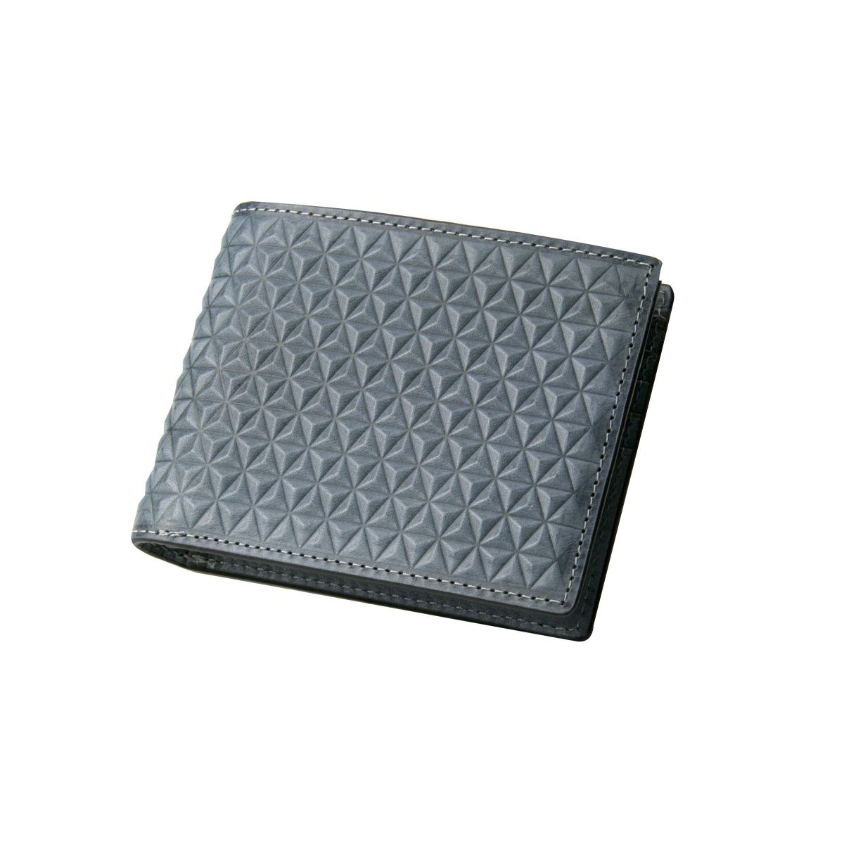 J.FOLD Tetra Leather Wallet - Slate