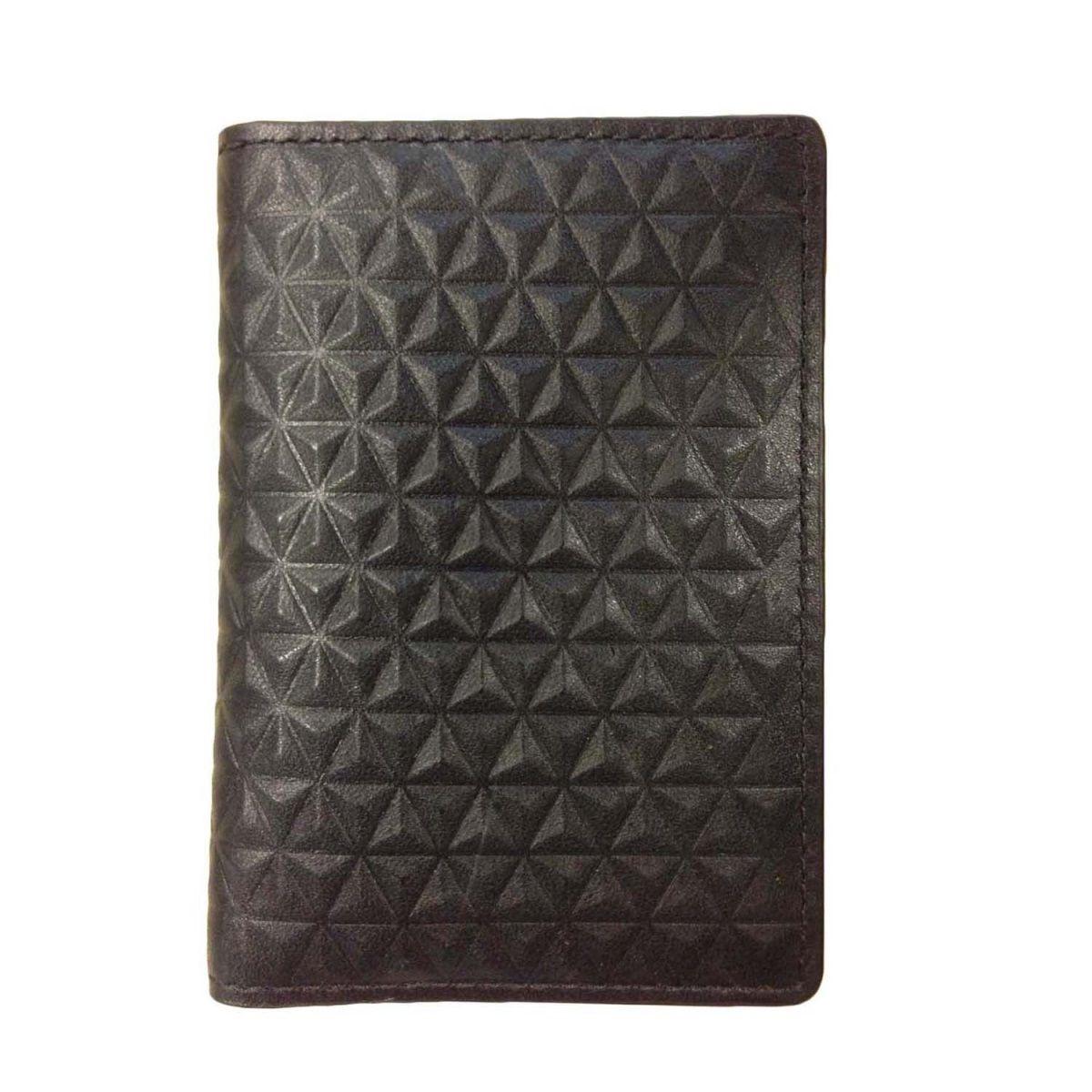 J.FOLD ארנק עור Tetra Folding  - שחור