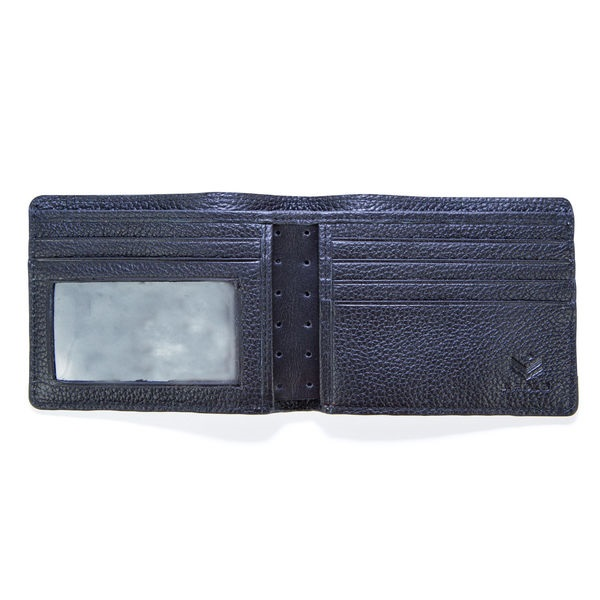 J.FOLD Loungemaster Leather Wallet  - Black