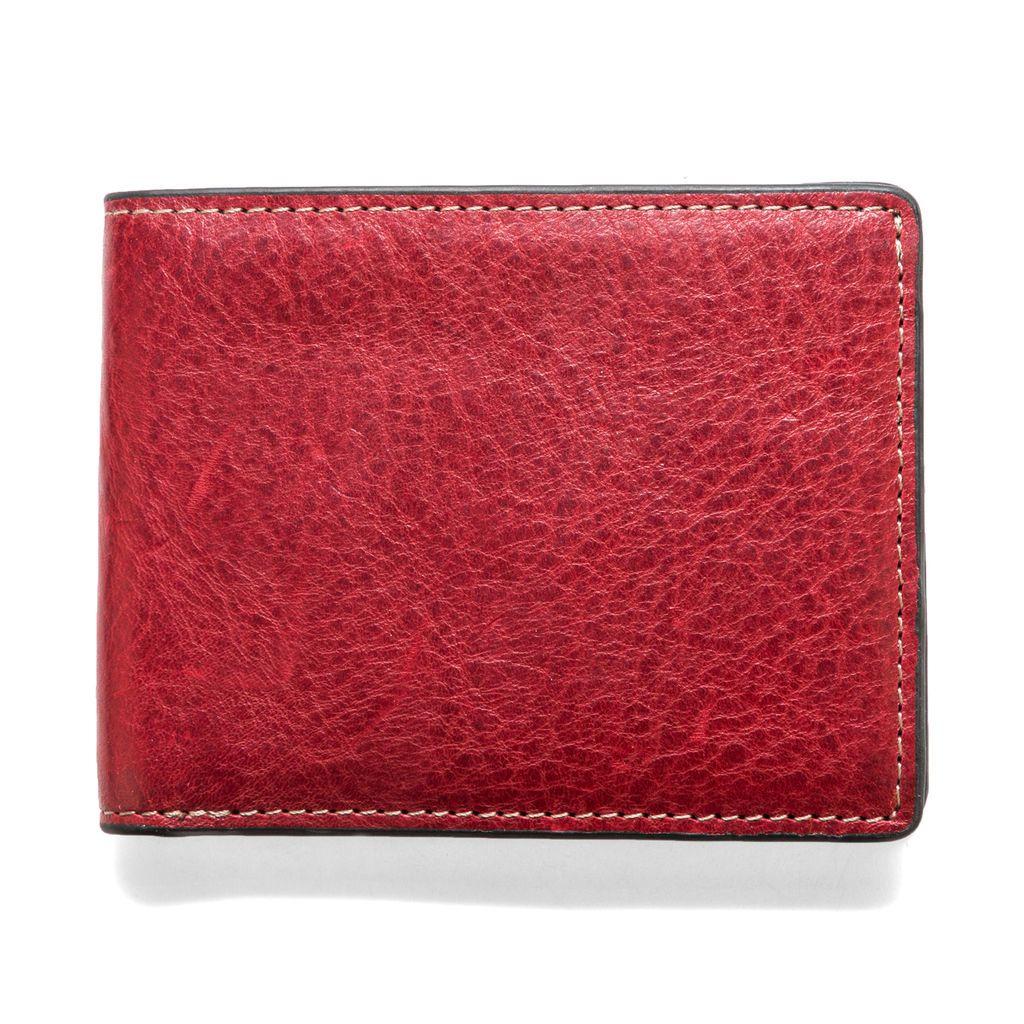 J.FOLD ארנק עור Torrent - אדום