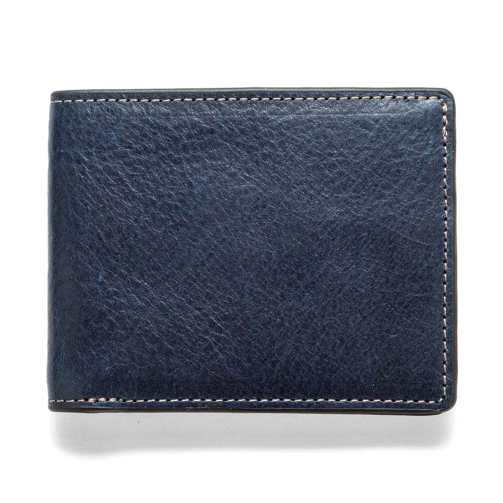 J.FOLD ארנק עור Torrent - כחול