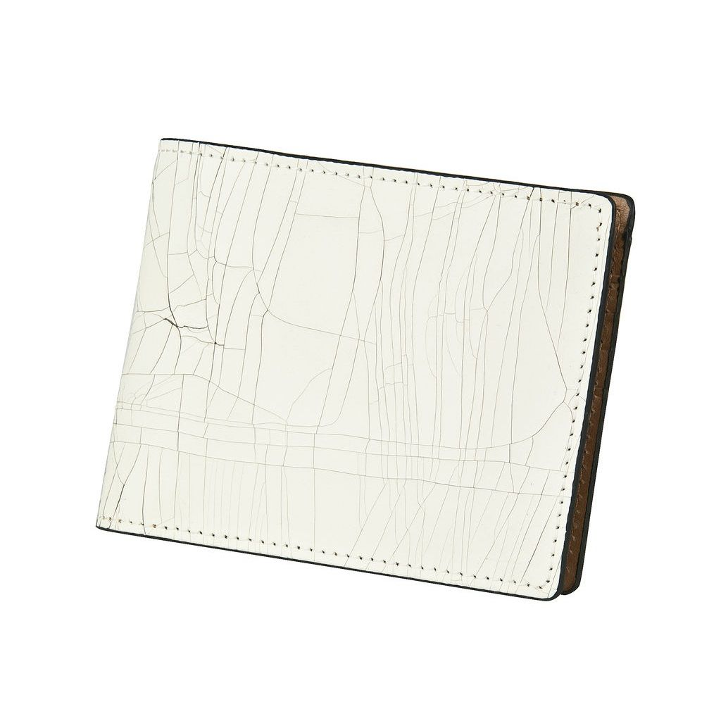 J.FOLD Leather Wallet Havana - Ivory